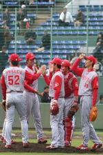 広島の選手達