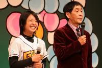萩本監督と片岡選手
