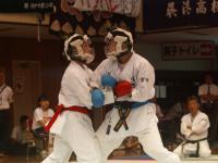 団体組手準決勝05