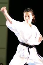 前田瑠美選手による模範演舞
