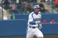 炭谷銀仁朗選手