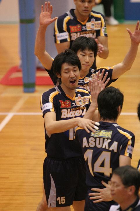 パワスポ: 2006/7 V・プレミアリーグ宮崎大会レポート